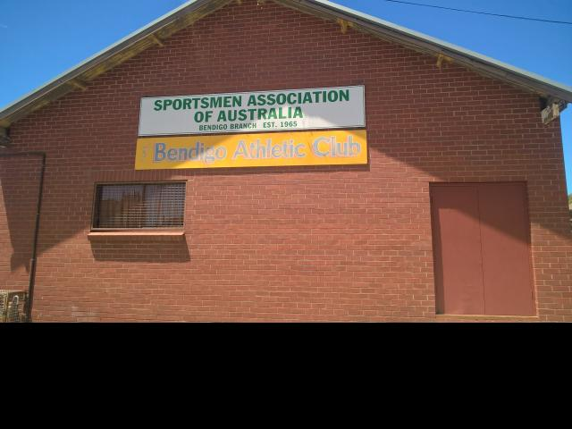 Front of the Clubrooms